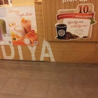 Photo taken at EDIYA COFFEE by Heejoo R. on 9/6/2012