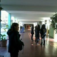 Photo taken at Liceo 7 Providencia by Massy V. on 8/6/2012
