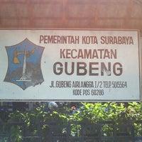 Photo taken at Sekretariat Kecamatan Gubeng by Erwin Kaskuff on 7/27/2012