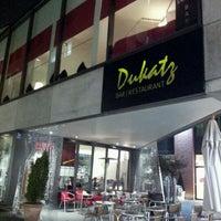 Photo taken at Bar Restaurant Dukatz by Dennis T. on 3/8/2012