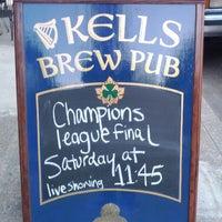 Photo taken at Kells Brewery by Moviti on 5/16/2012