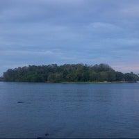 Photo taken at Pulau Dutungan by Randika on 8/25/2012