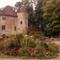 Photo taken at Domaine de Volkrange by Delph C. on 9/12/2012