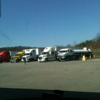 Photo taken at Hancock Truck Plaza by Audrey T. on 3/14/2012
