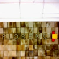 Photo taken at Metro =B= =C= Florenc by Tigra . on 8/7/2012
