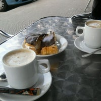 Photo taken at Cafeteria Pili - confiteria y panaderia by Andichan K. on 4/2/2012
