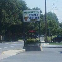 Photo taken at Massey's Frozen Custard by Hoover L. on 8/22/2012