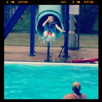 Photo taken at Bellevue Swimming Pool by Catherine C. on 6/15/2012