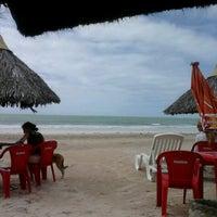 Foto tirada no(a) Praia de Paripueira por Marcos D. em 9/7/2012