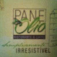 Photo taken at PaneOlio Ristorante & Caffe by FERNANDO S. on 2/4/2012