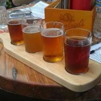 Photo taken at Leinenkugel's Beer Garden by Josh W. on 5/6/2012