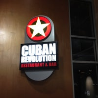Photo taken at Cuban Revolution by Arun S. on 4/10/2012