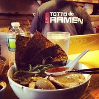Photo taken at Totto Ramen by Superjonbot on 8/8/2012