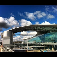 Photo taken at Terminal D by Rouben Y. on 4/30/2012