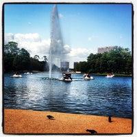 Photo taken at Hermann Fountain by Matthieu w. on 8/12/2012