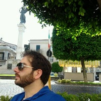 Photo taken at Piazza Eugenio Abbro by Annapaola F. on 6/8/2012