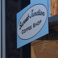 Photo taken at Sunset Junction Coffee Shop by leonel f. on 8/5/2012