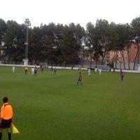 """Photo taken at Campo de Futbol   Antonio Martinez """"El Morao"""" by jose carlos g. on 3/24/2012"""