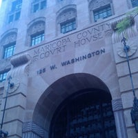 Photo taken at Arizona Superior Court in Maricopa County- Old Courthouse by Christian W. on 8/15/2012
