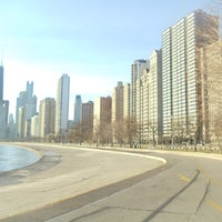รูปภาพถ่ายที่ Chicago Lakefront Trail โดย Aaron C. เมื่อ 4/15/2012