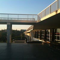 Photo taken at Metro =C= Vyšehrad by Egman E. on 8/13/2012