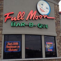 Photo taken at Full Moon BBQ by Joan on 2/29/2012