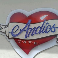 Photo taken at Andie's Cafe by Chantel W. on 4/2/2012