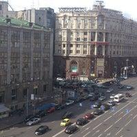 Снимок сделан в Тверская улица пользователем Анатолий М. 9/11/2012