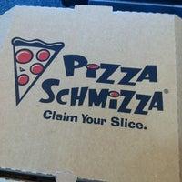 Photo taken at Pizza Schmizza by 江 美 美 Mei Mei S. on 2/5/2012