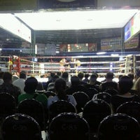 Photo taken at Lumpinee Boxing Stadium by Song Seree on 4/27/2012