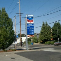 Photo taken at Chevron by Motorcycle D. on 8/25/2012