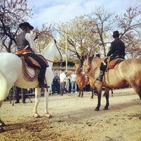 Photo taken at Feria de Mataderos by Daniel C. on 5/25/2012