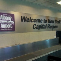 Photo taken at Albany International Airport (ALB) by Hareg Y. on 5/2/2012