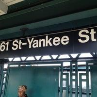 5/27/2012 tarihinde Charles H.ziyaretçi tarafından MTA Subway - 161st St/Yankee Stadium (4/B/D)'de çekilen fotoğraf