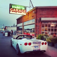 Photo taken at Vinsetta Garage by Steven E. on 8/27/2012