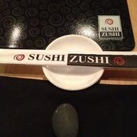 Photo taken at Sushi Zushi by Jose D V. on 2/22/2012
