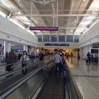Photo taken at Concourse A by Stephen Y. on 9/8/2012
