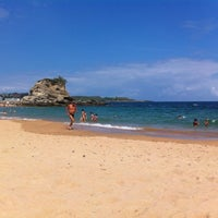 Photo taken at Playa Camello by M G. on 8/12/2012