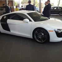 Photo taken at Audi North Houston by Carly B. on 5/8/2012