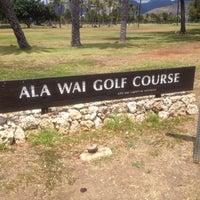 Photo taken at Ala Wai Golf Course by Shinnichi A. on 8/28/2012