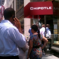 Photo taken at Chipotle Mexican Grill by ✰ David M. on 7/24/2012