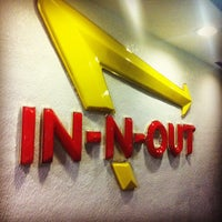 Photo taken at In-N-Out Burger by Lauren S. on 4/13/2012