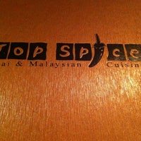 Photo taken at Top Spice by Kevin W. on 2/25/2012