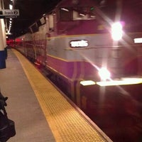 Photo taken at Providence Train Station (PVD) - MBTA & Amtrak by James G. on 3/2/2012
