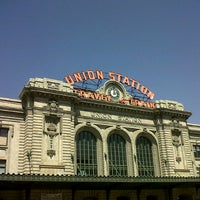 Photo taken at Denver Union Station by Fabrizio C. on 8/18/2012