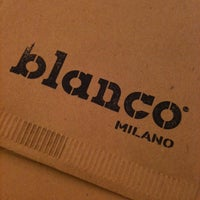 Photo taken at Blanco Milano by Davide D. on 2/13/2012