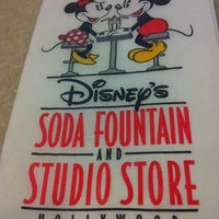 Photo taken at Disney's Soda Fountain & Studio Store by Beatriz Dorothy L. on 2/25/2012