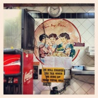 Photo taken at Three Boys from Italy Pizzeria by Steve on 2/21/2012