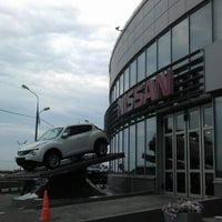 Photo taken at Nissan Автогранд by Андрей М. on 7/27/2012