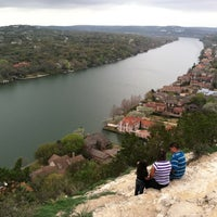 Photo taken at Covert Park at Mt. Bonnell by Vipin G. on 3/8/2012